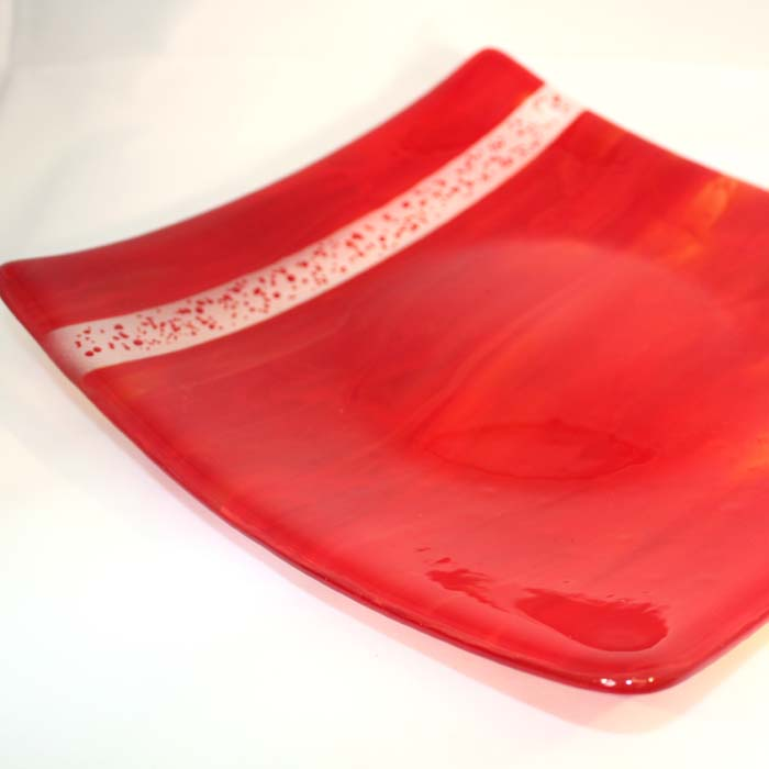 Red streaky bowl