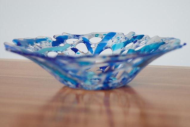 Blue holey bowly